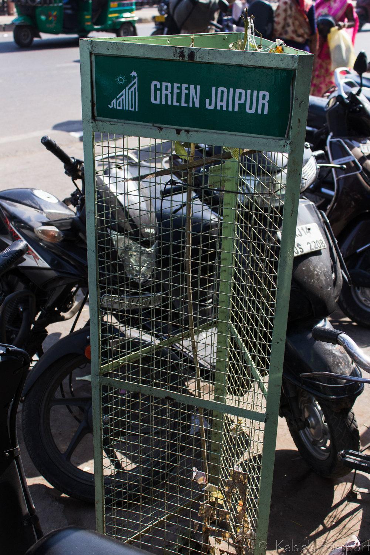 """""""Green"""" Jaipur."""