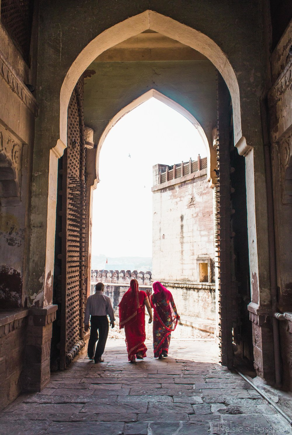 After a visit to the Mehrangarh Fort.