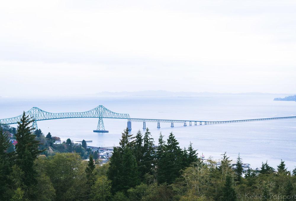 The Megler Bridge