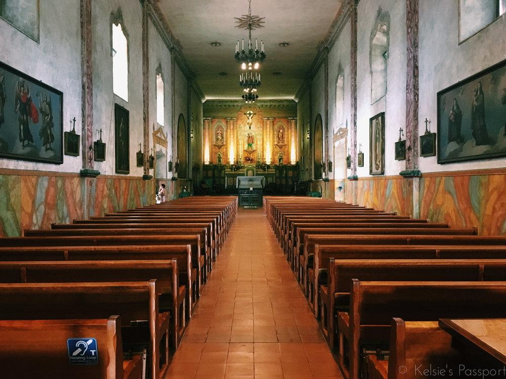 Old Mission Santa Barbara.