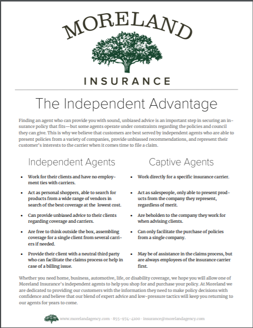The Independent Advantage -
