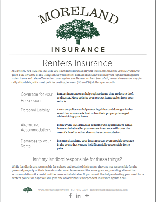Renters Insurance -