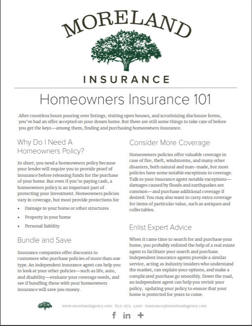 Homeowners Insurance -