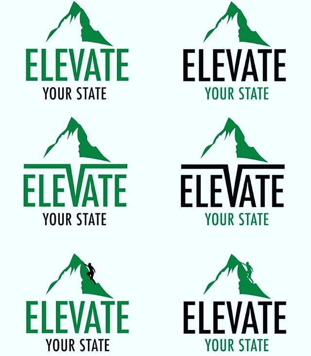 I just Got new logo designs back for a new event I'm throwing...EXACTLY one month from today! Introducing, Elevate Your State LIVE - a 3 Day Experiential Health Hacking Retreat in #Carlsbad #california April 28-30.  ASK- Which one do you like?! I'm thinking too right but add DNA strands or something. 😜👊 Make your calendars!! More info on this epic experience will come out later this week. So if you're in #socal and you're a #biohacker Or you just value your health, stay tuned! Or comment below if you're interested in learning more.  More info out these next few days and weeks about this epic experience we are co creating. #elevate #elevateyourstatelive #eyslive #healthhackersunite #biohacking #bulletproof #healthiswealth #nutrition #sandiego