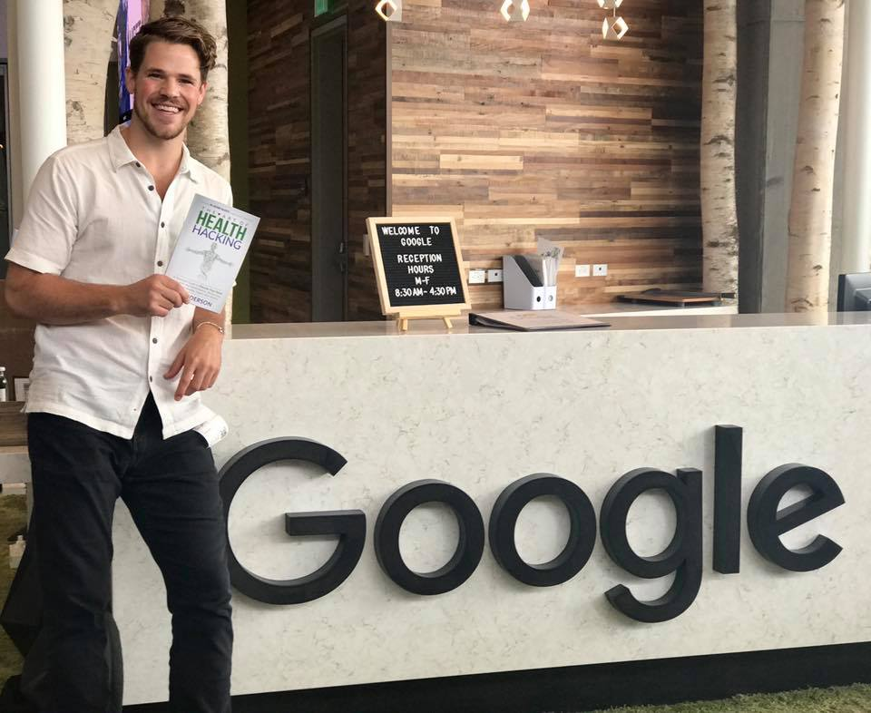 Me after my talk at Google's Boulder, CO Campus, July of 2018.