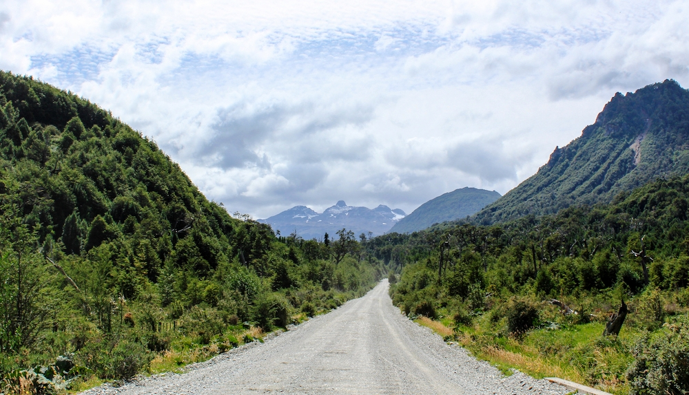Driving and camping along the beautiful Carretera Austral.