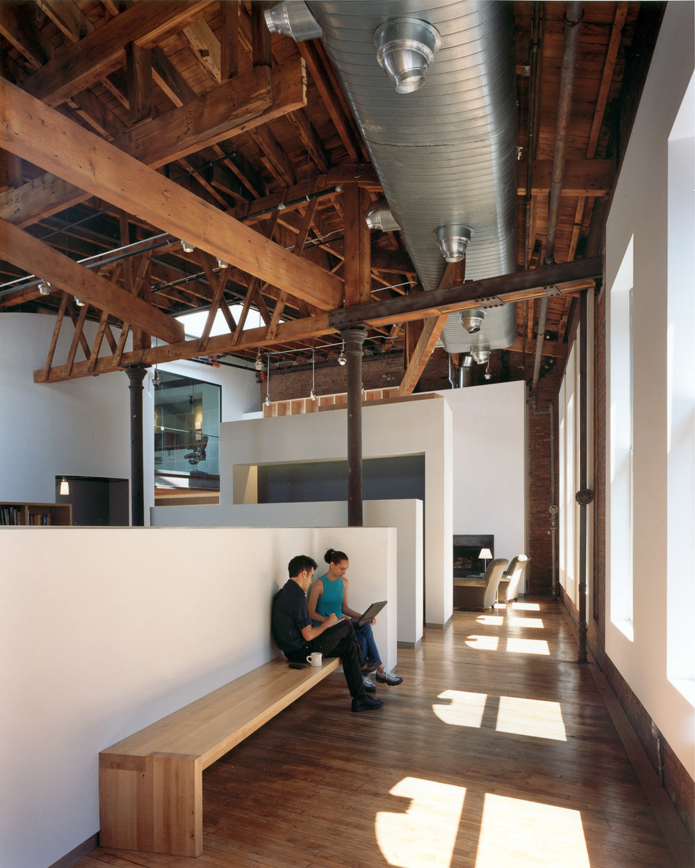 A renovated workspace. M&C Saatchi Agency. Think! Architecture & Design