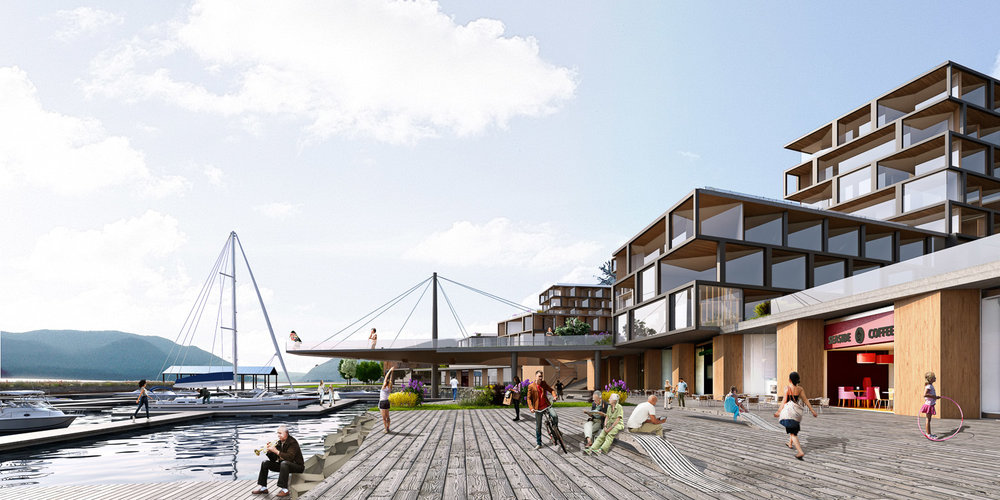 Terraced architecture. Newburgh Development. Think! Architecture & Design