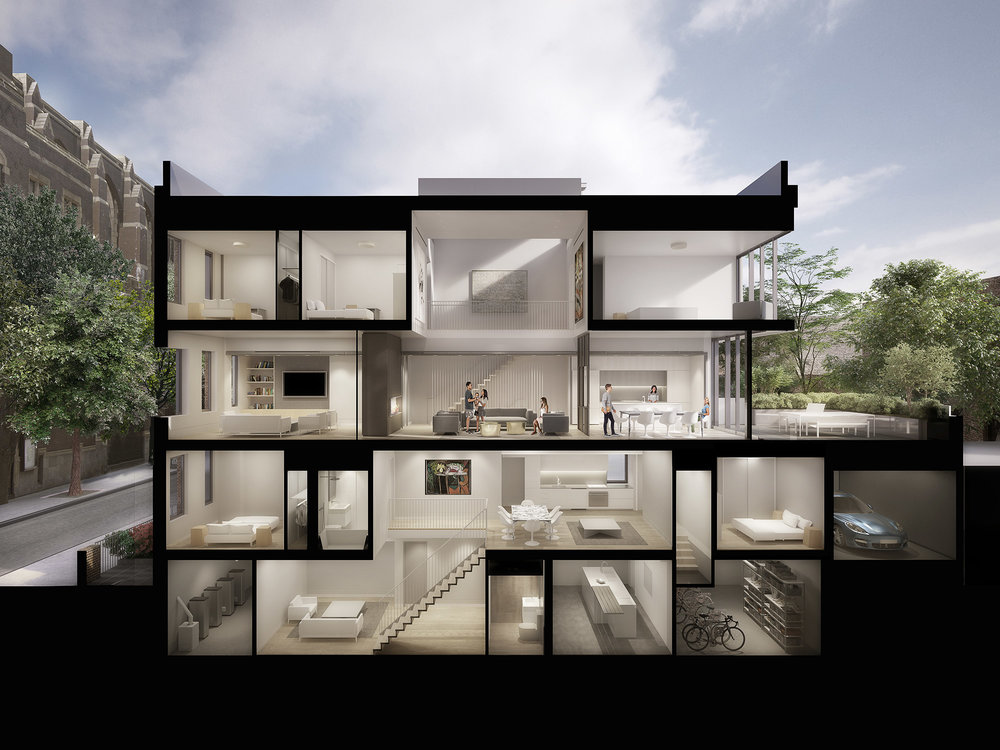 St. Felix Street Townhouse. Think! Architecture & Design