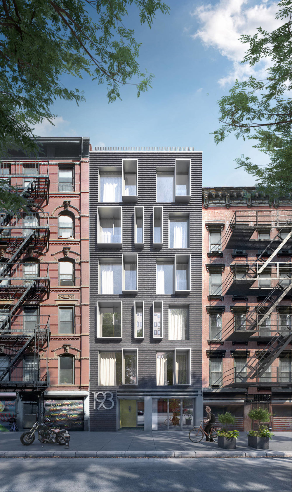 Extraordinary. Modular Architects. Modular Design. lower east side. building. Think architecture & design