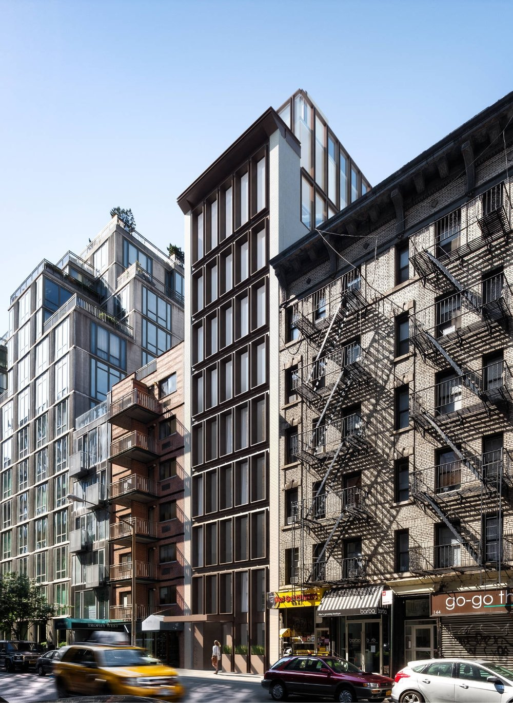 extraordinary. community. Extraordinary.NYC. Chelsea. building. Think architecture & design