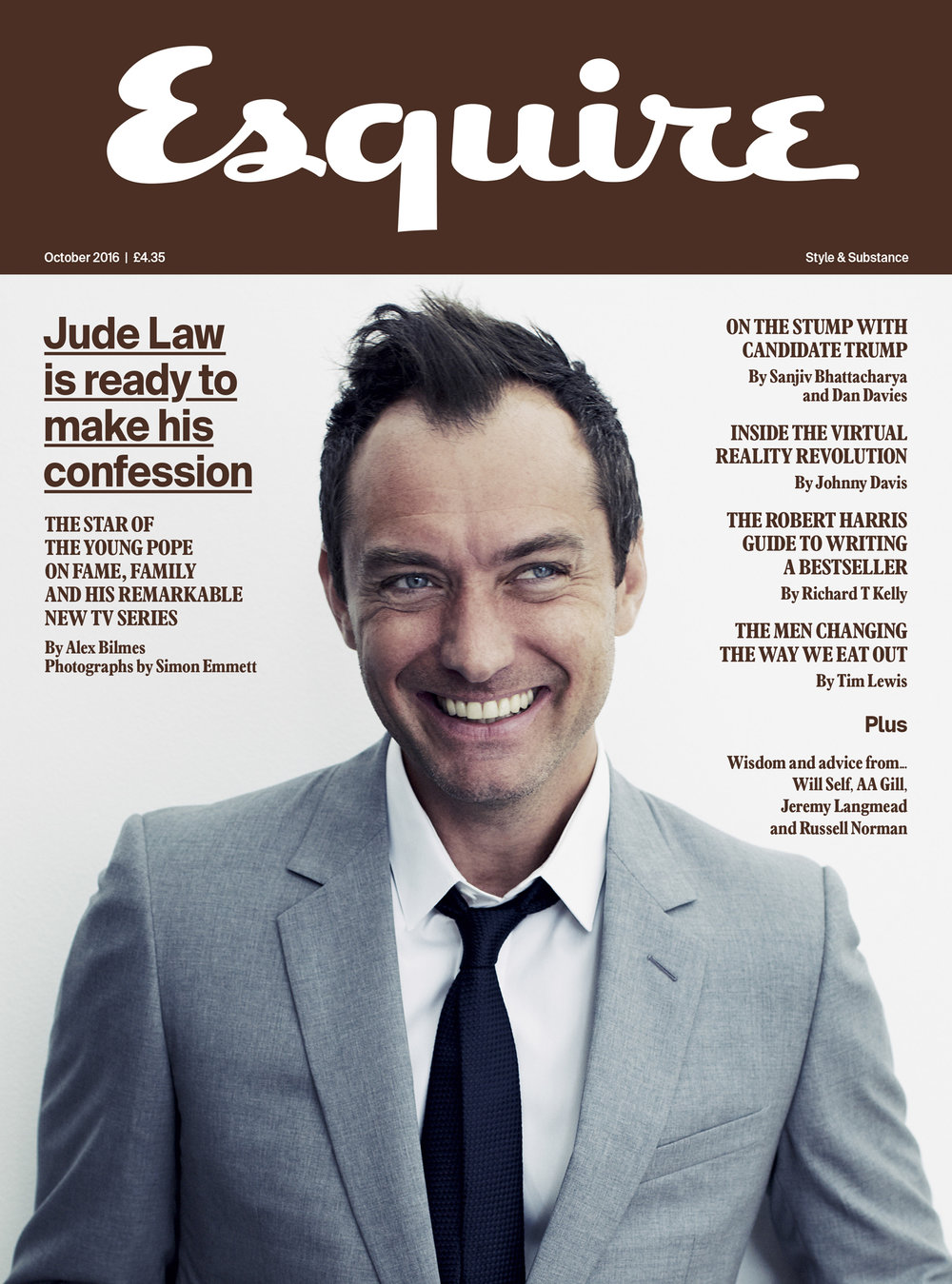 Jude Law  Newsstand edition