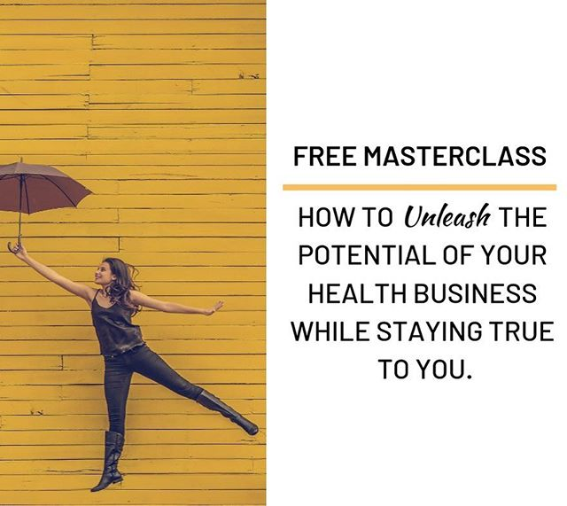 Tomorrow!! Join my partner Corrine and me this Tuesday at 11AM MT / 1PM EST to learn how to unleash the potential of your business while staying true to you. * This class is for health entrepreneurs like you, who: - Feel overwhelmed and don't know what to do next - Are ready to show up for real and be taken seriously - Have the desire to retire your partner! (Yes, even this!!) * Corrine and I are so excited to unleash UNLEASH on you!  We know you're going to love this business mastery as much as we do. Interested? Raise your hand below and I'll send you the details. See you tomorrow my friends. * * * #unleash #businessmastery #healthcoach #mentorship #mentors #nationalboardcertifiedhealthandwellnesscoach #healthentrepreneur #aboutme #introductions #functionalmedicinecertifiedhealthcoach #enthusiast #ballofenergy #wellnessinspiration #autoimmunethriver #lifeenthusiast #adventurer #coloradonaturelover #sunshineworshiper #wellnesswarrior #wellnessjourney #functionalmedicine #holisticcoaching #mindbodyspirithealth #entrepreneurmom #growhealthy #livefully #rootofhappiness