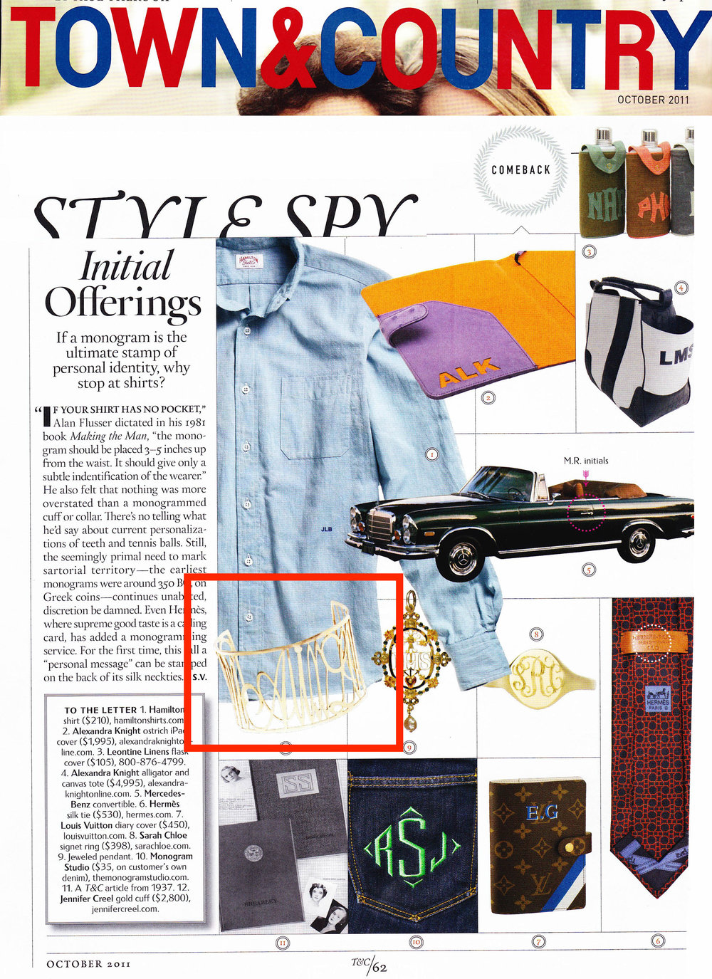 Jennifer Creel in Town & Country