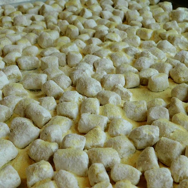 Chilly, windy days are the perfect occasion for enjoying warm bowls of comforting food like gnocchi. We make them fresh daily!