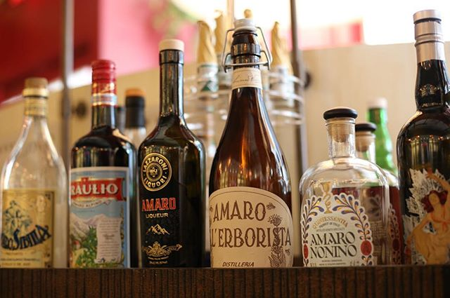 Vi posso offrire un amaro? May I offer you an amaro? Check out the selections on our roving amaro cart, and savor the sweet truth about these Italian bitters: they are delicious.