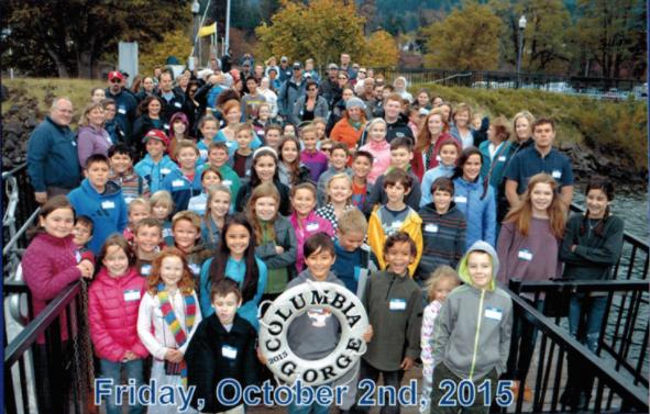 Participate/lead amazing field trips!