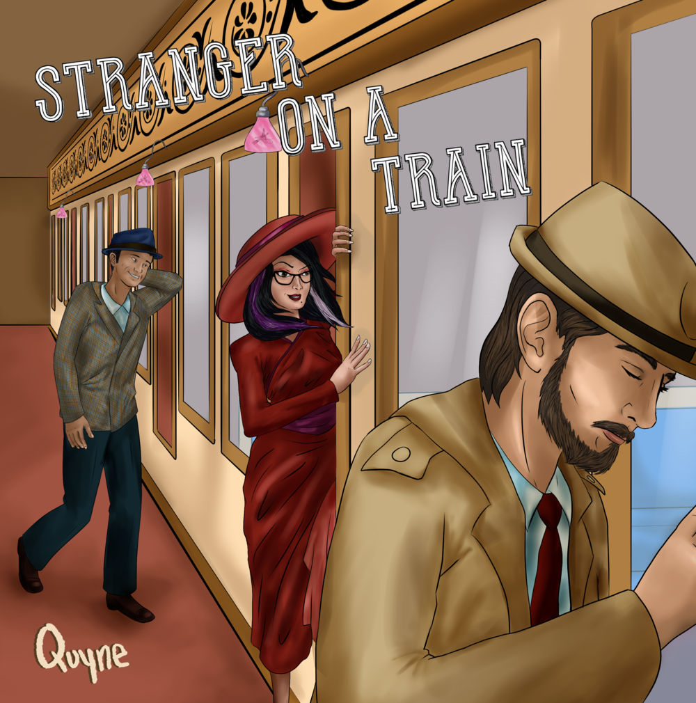 """Stranger on a Train"" Single Cover Art"