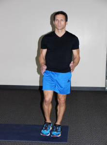 Balance on one leg