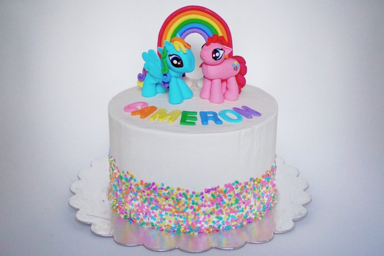 Rainbows And My Little Pony Sugarbear Bakes