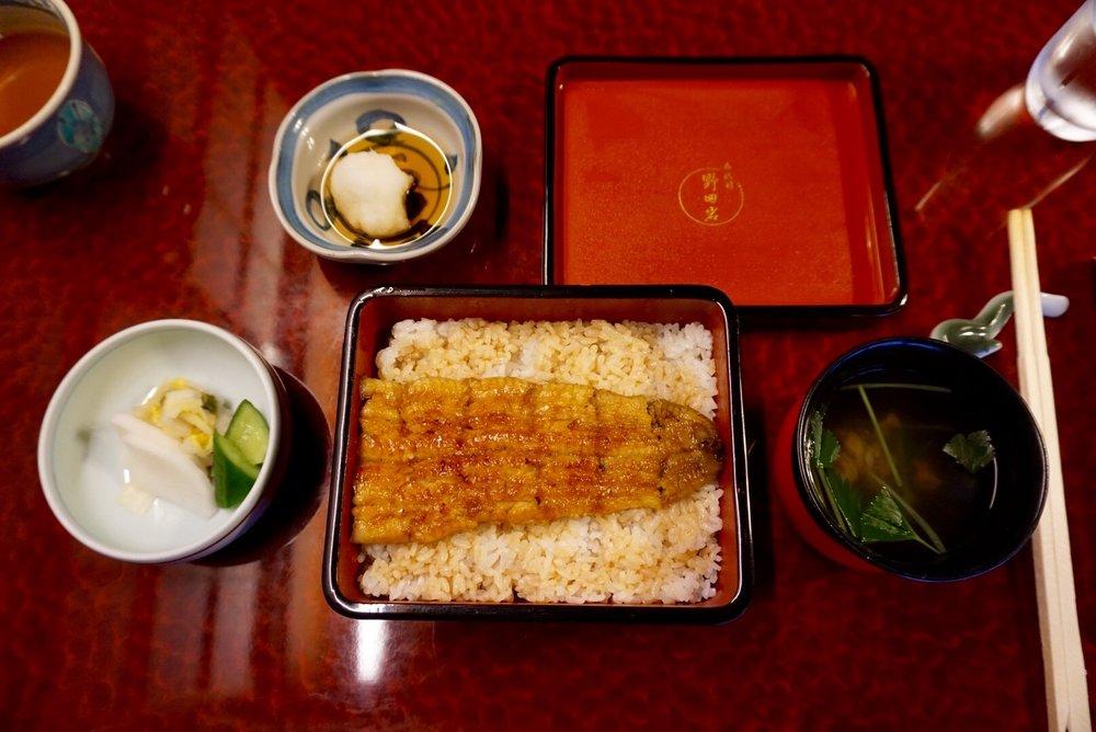 Nodaiwa Unagi-ya in Ebisu: