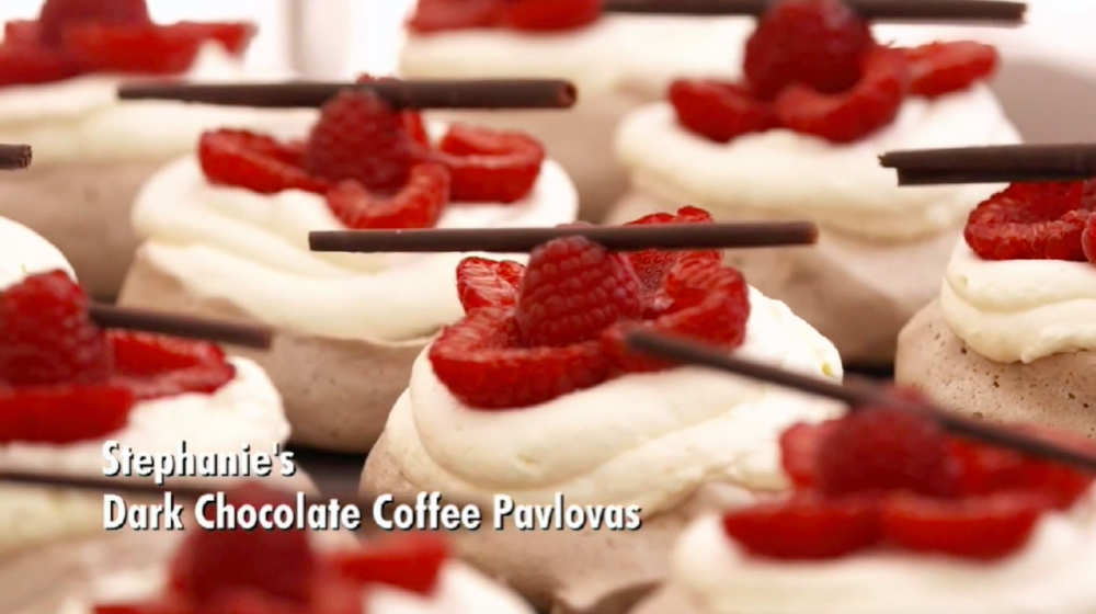 Pavlovas from The Great American Baking Show