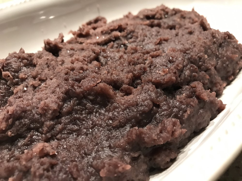 Red bean paste complete!