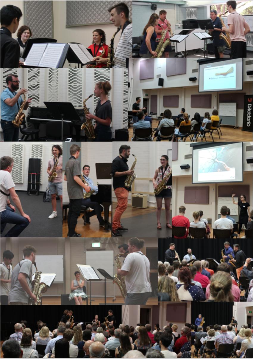 Melbourne Saxophone Summer Academy