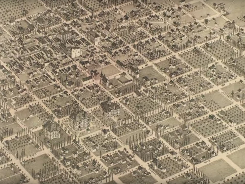 1890's Map of Boise
