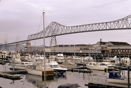 Astoria-Megler Bridge. Photo: Marion Dean Ross, 1966