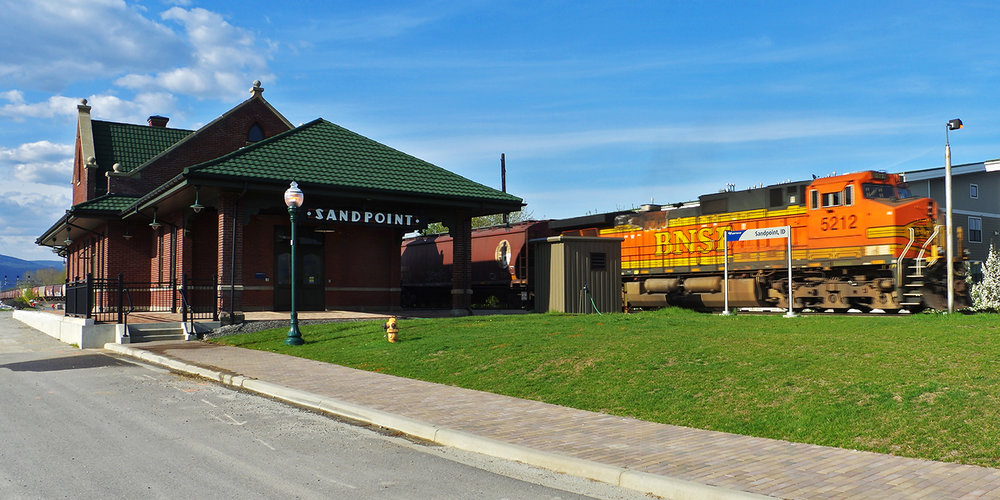 Copy of Northern Pacific Rail Depot, Sandpoint