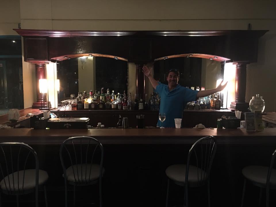 Marina View's Side Bar