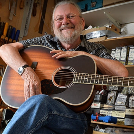 Industry Builder Award presented to Jean Larrivee,Luthier Conference