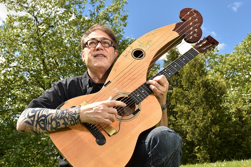 Vancouver guitarist Don Alder will perform and lead master classes as part of the inaugural Vancouver International Guitar Festival. Photo Dan Toulgoet