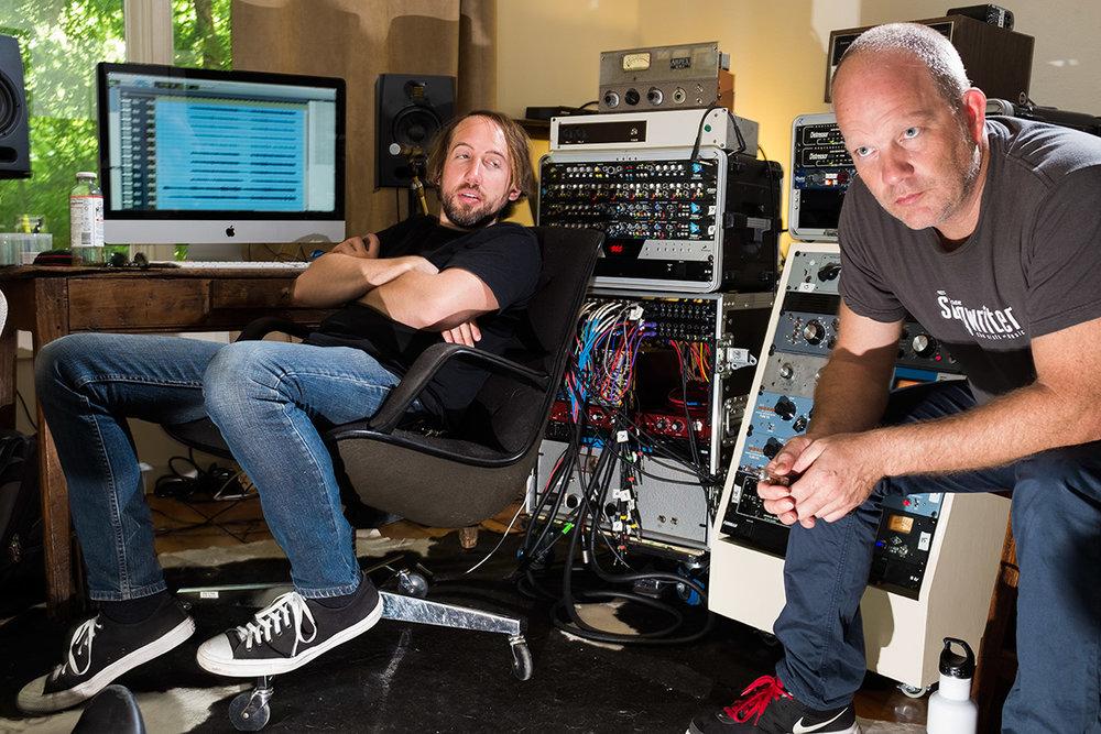 Reggie O'Farrell and David Pulkingham. Photo by Bill Mc Cullough