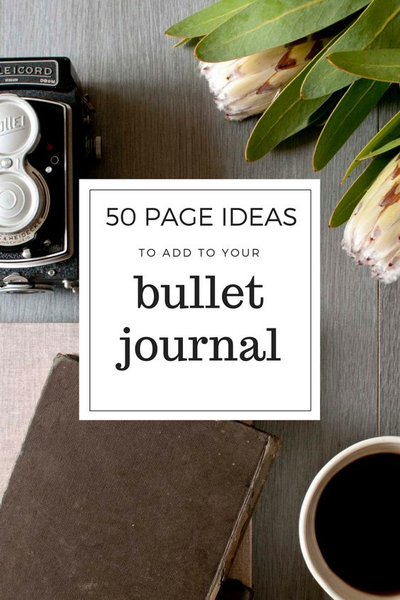 BUJO UPDATE: new list of 50 more page ideas  HERE!