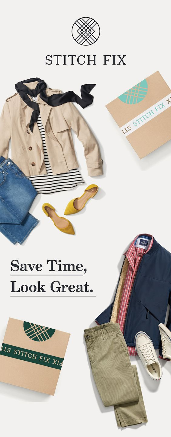 Um, how have I not heard of Stitch Fix yet?!  All you do is take a style quiz & you get a personalized stylist that will pick out items based on your responses & ship them to you to try on! Keep only what you like and send back what you don't like!  My first Fix arrives March 6, so I'll be sure to share what my stylist picks for me!