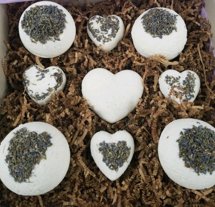 Lavender Bath Bomb Gift Set - $25