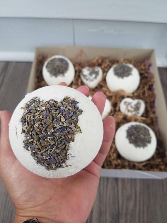 Lavender Bath Bombs - $5