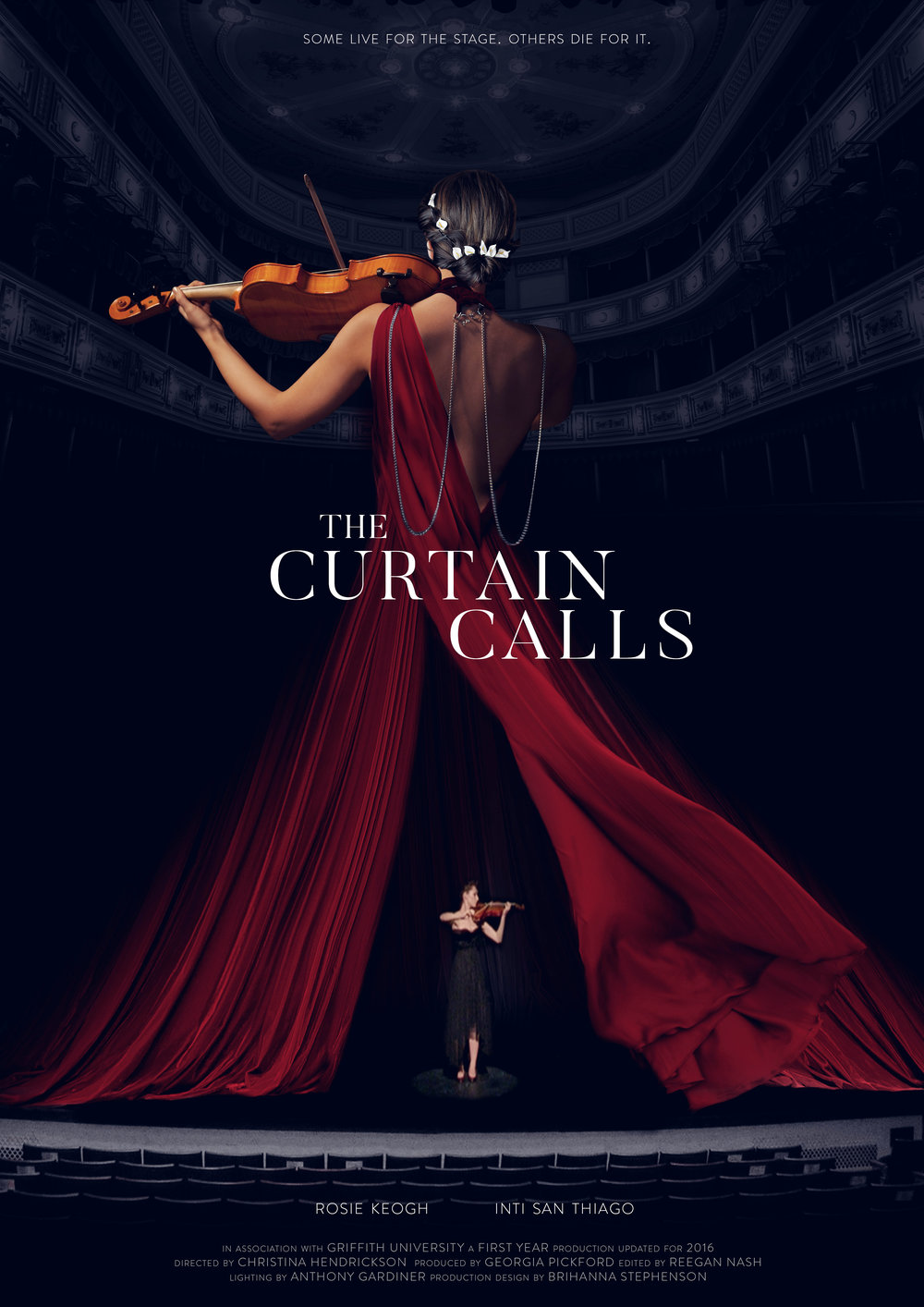 The Curtain Calls Reegan Nash