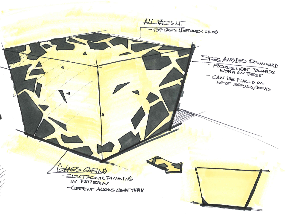 Sketches - Industrial design for consumer products