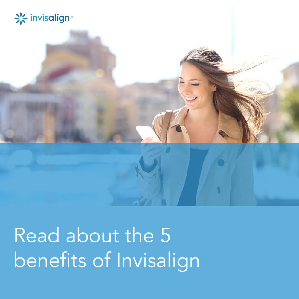 The 5 Benefits of Invisalign