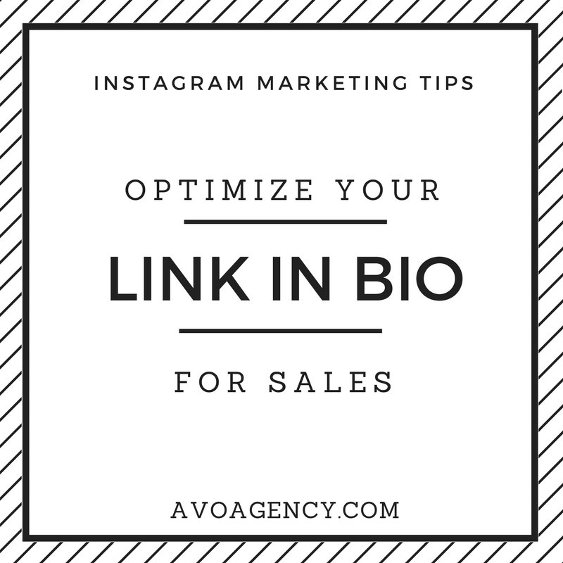 instagram tips avo agency