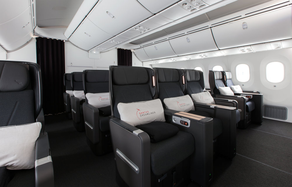 Premium Economy seating
