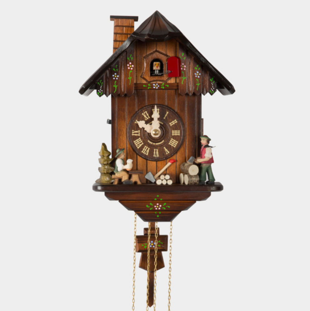 Cuckoo Clock - Partnering with German clockmaker Hubert Herr, Best Made Co has produced a limited edition, fully mechanical cuckoo clock (that must be wound once a day). It's been handmade in Germany's Black Forest, with fir and birch sourced from the country. Herr is the only person to produce such a clock entirely in-house today. It's as intricate as it is charming—and it chimes every 15 minutes.