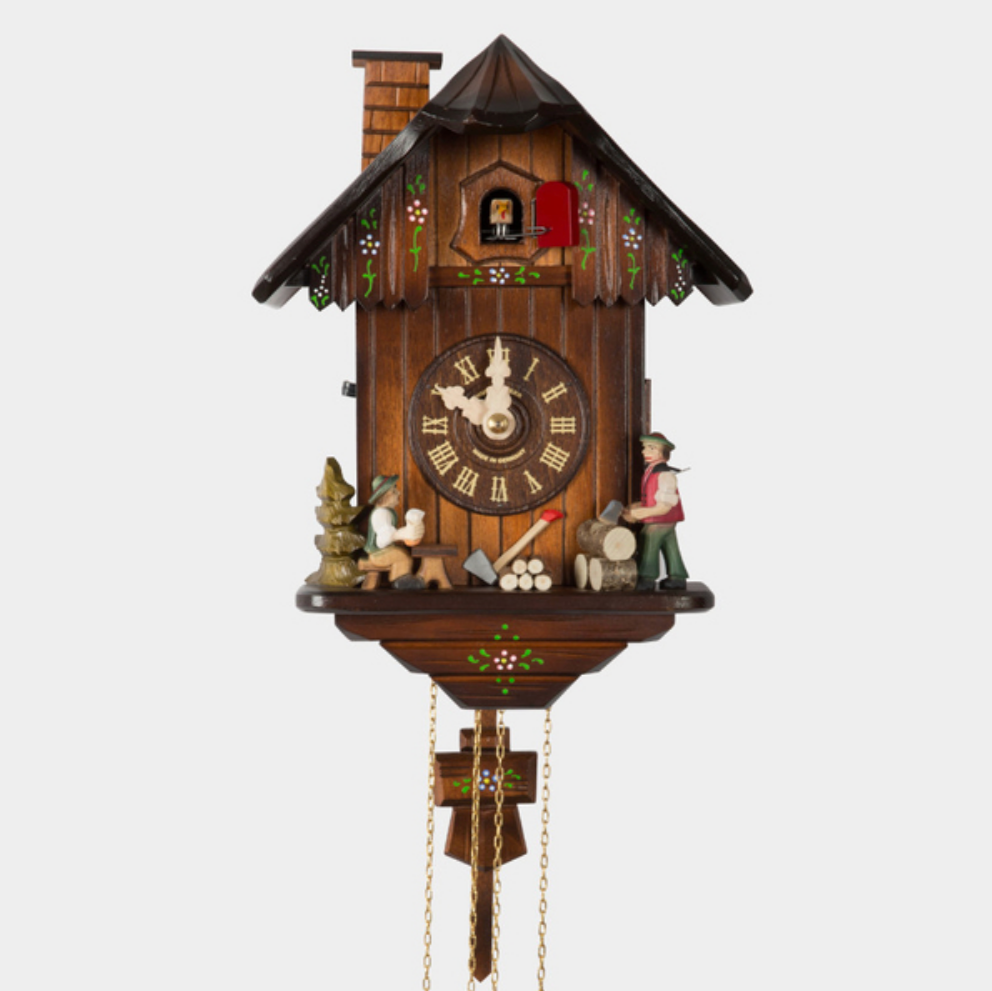 Cuckoo Clock - Partnering with German clockmaker Hubert Herr, Best Made Co has produced a limited edition, fully mechanical cuckoo clock (that must be wound once a day). It's been handmade in Germany's Black Forest, with fir and birch sourced from the country. Herr is the only person to produce such a clock entirely in-house today. It's as intricate as it is charming—and it chimes every 15 minutes
