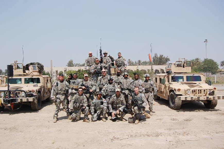 Team Photo, FOB Justice, Baghdad, Iraq 2007