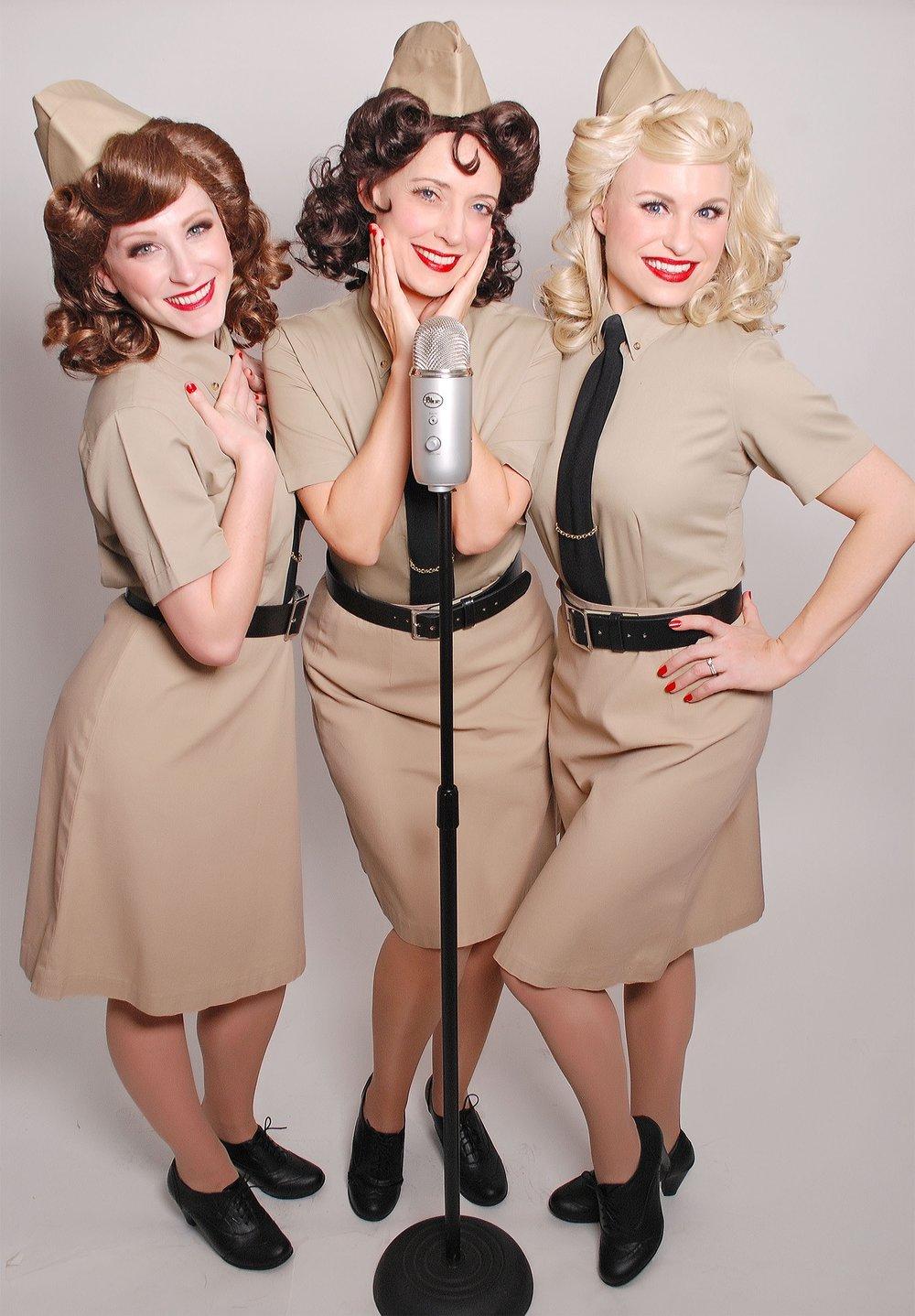 The Swing Dolls Vintage Singing Trio