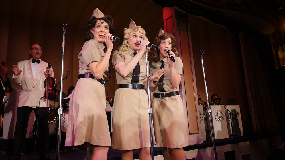 The Swing Dolls Live Andrews Sisters Tribute