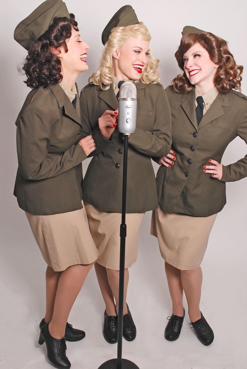 Los Angeles Best Andrews Sisters Trio